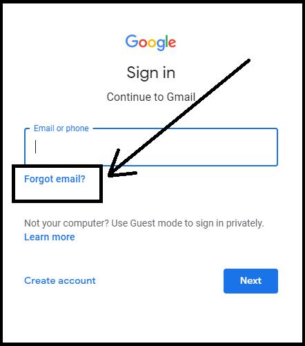 gmail find