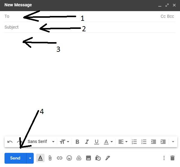 gmail id se massge bheje 3