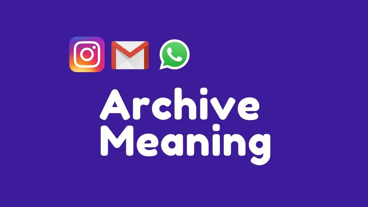 Archive Meaning in Hindi